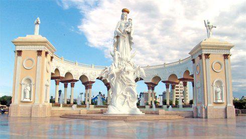 monumento a la virgen chinita