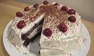 Delia Smith's black forest gateau