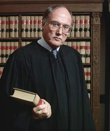 William Rehnquist - He once practiced law in Phoenix.  He is now Chief Justice of the U.S. Supreme Court.