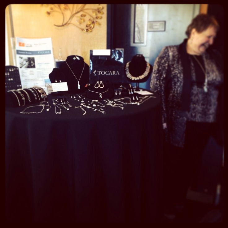 Tocara Fine Jewellery's Brenda Ward showcased many of her finer pieces!