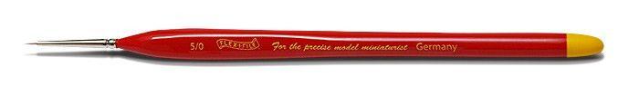 FLX050 Flex-i-File Size 5/0 Ultra Fine Red Sable Brush