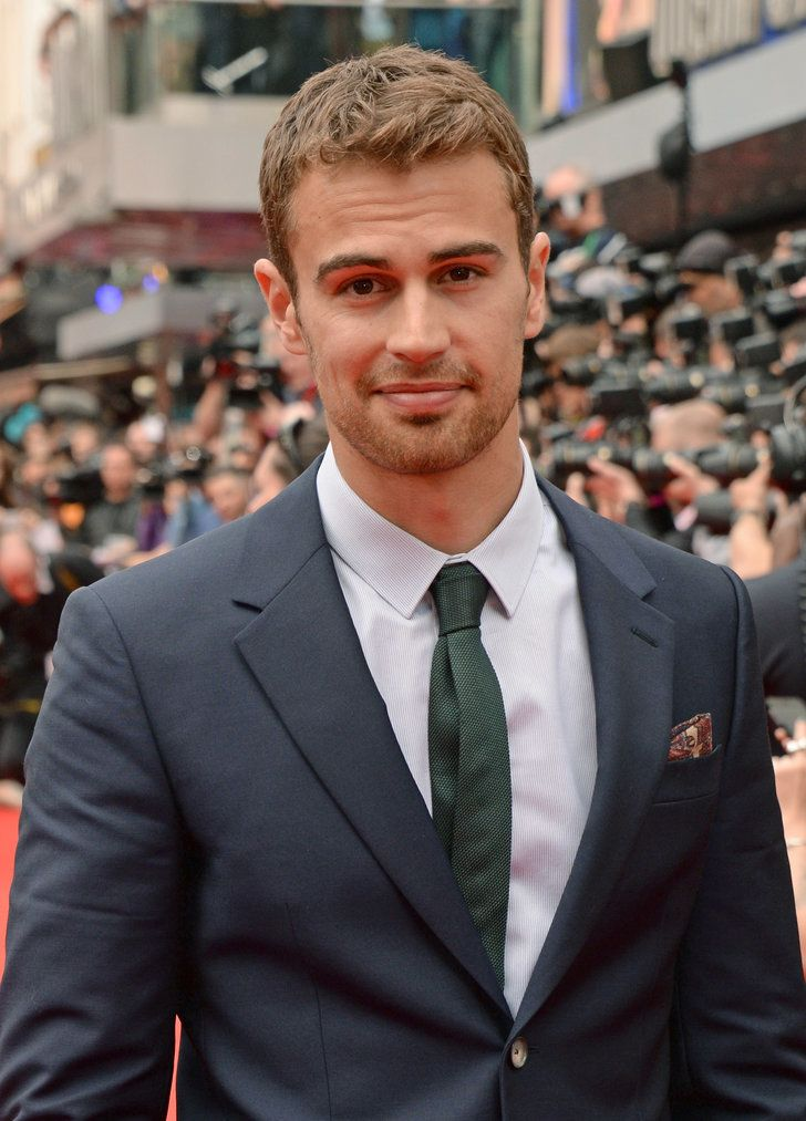 Celebrity Gossip & News | You Might Want to Sit Down Before You Look at These Pictures of Theo James | POPSUGAR Celebrity UK