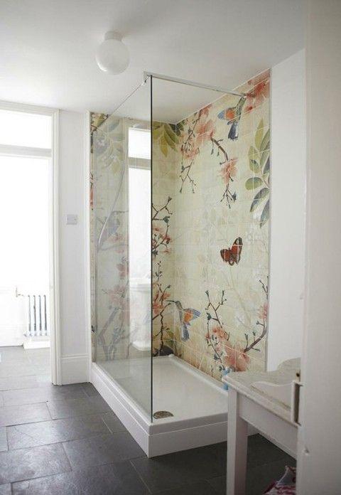 Pic On Shower Tile Ideas For A Lovely Bathroom