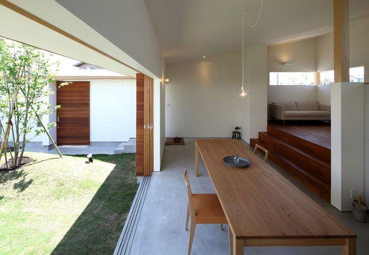 松原建築計画 / Matsubara Architect Design Office の 北欧風 リビングルーム ダイニング