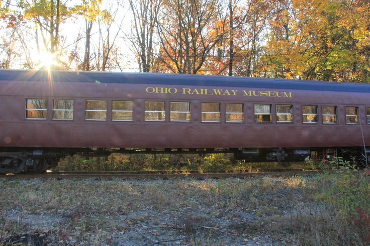 Trolley Ride In Ohio At The Ohio Railway Museum