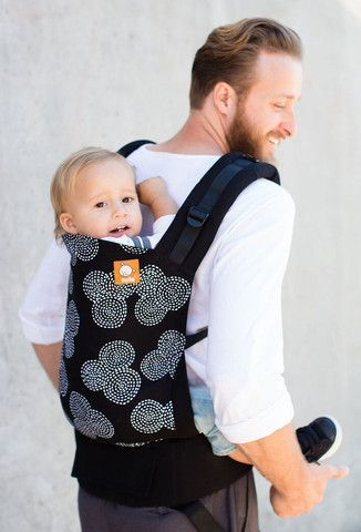 Tula Standard Ergonomic Baby Carrier- Concentric