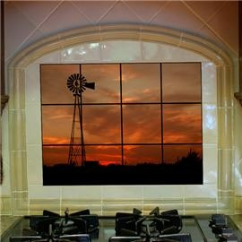 """Windmill"" Decorative Tiles....definitely a ""MUST HAVE"" in my dream home"