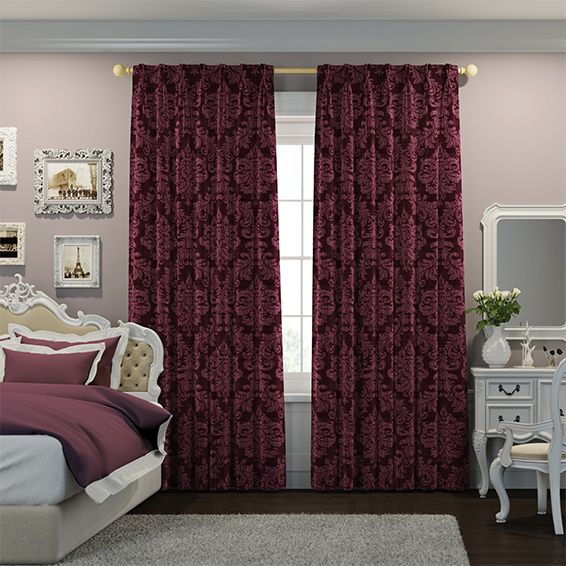 34 best Curtains: Patterns & Designs images on Pinterest | Curtain ...