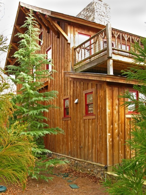 Find This Pin And More On For The Home By Redheadkatrn. Exterior Cabin  Design ...