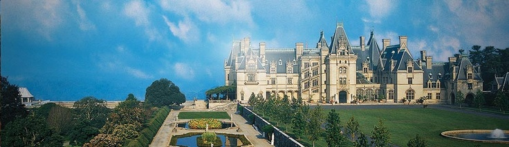 The Biltmore Estate in Asheville, NC - One of theses days I will make my way there!