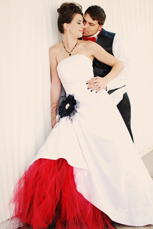 40 best images about white trash wedding on pinterest for Rock n roll wedding dress