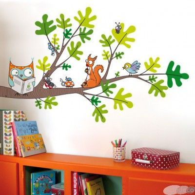 Petite lecture / Stickers muraux / Wall stickers / Design Série-Golo