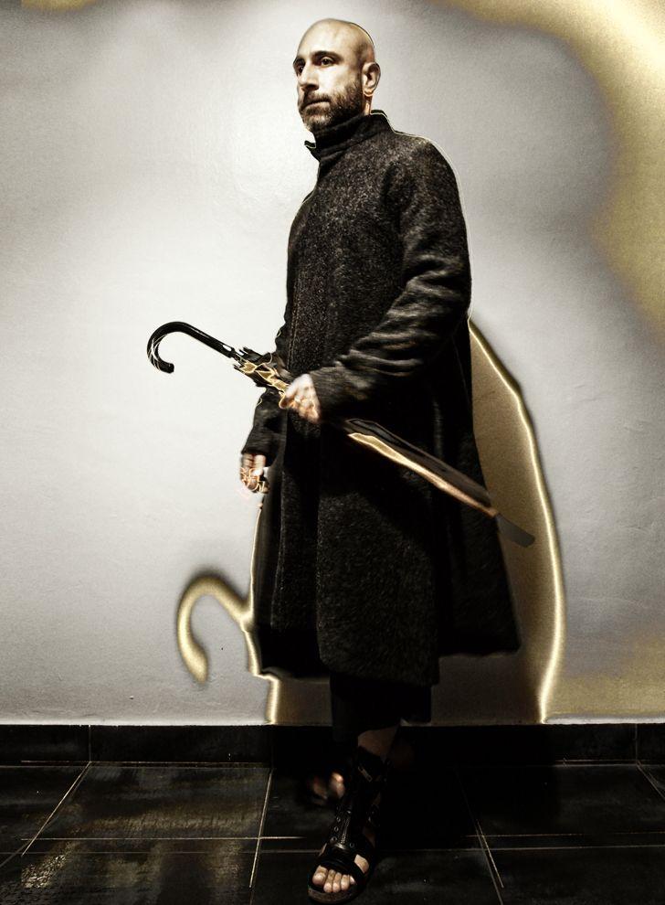 A-line wool coat, sotirisgeorgiou.com  shoes burberry.com