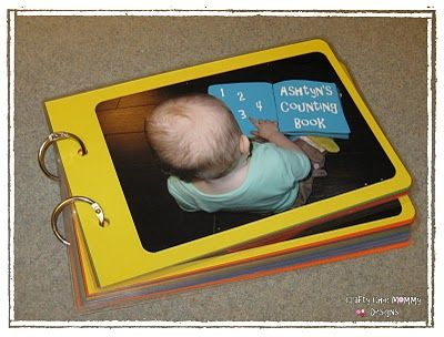 Idea for a really quick counting book using things from around the house.