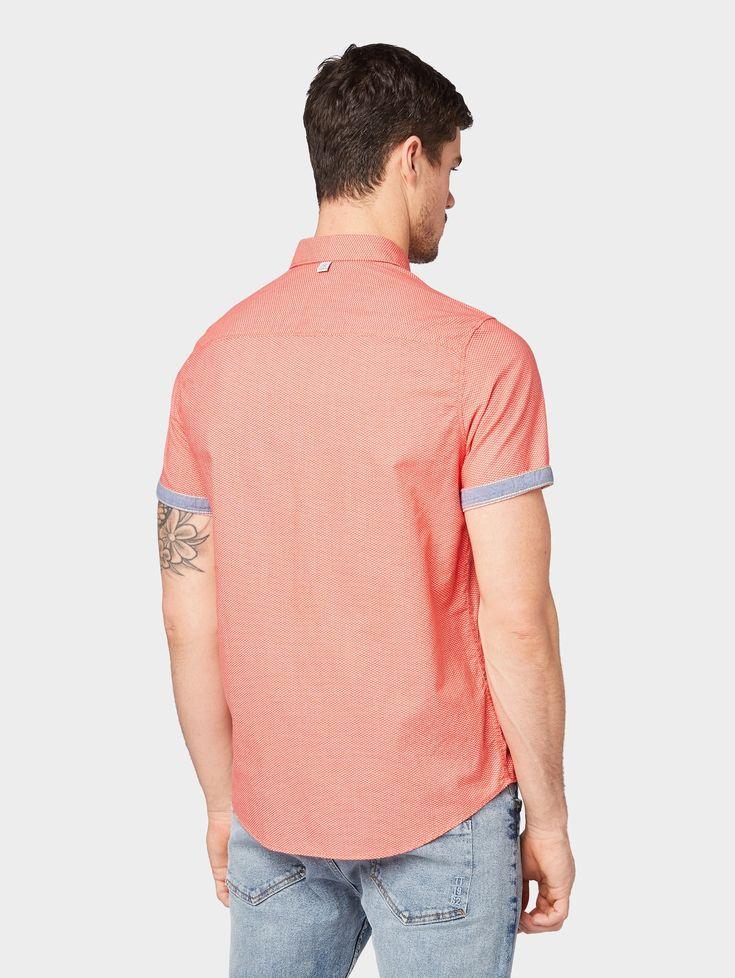Tom Tailor Hemd Herren Rot Grosse S T Shirt Manner Toms Und Herrin