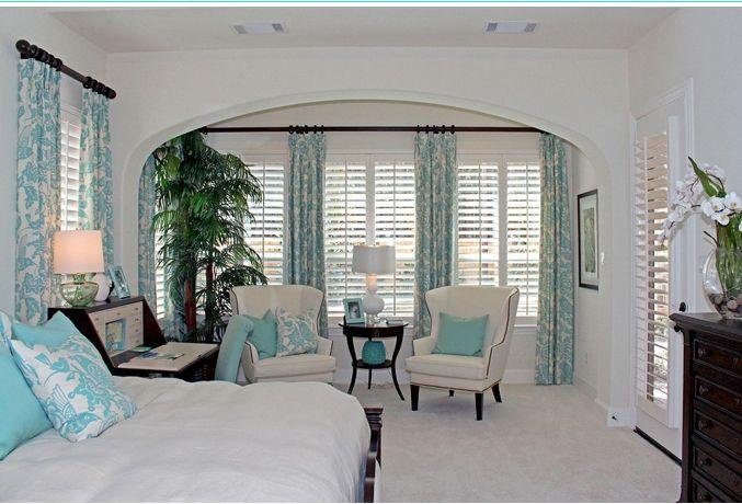 Бирюзовые шторы - Дизайнерские шторы
