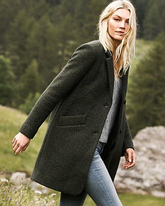 1e8ad8f4a7cf Marc New York Paige Coat | Pretty in 2019 | Fashion, Mens wool coats ...