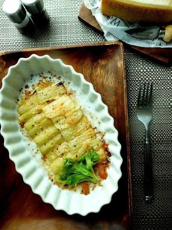 セロリのパルミジャーノオーブン焼き by 優子 | レシピサイト「Nadia ...