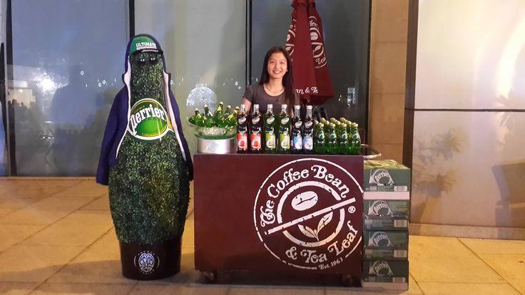 Coffee Bean and Tea Leaf presentation with Teisseire & Perrier in Saigon, Vietnam