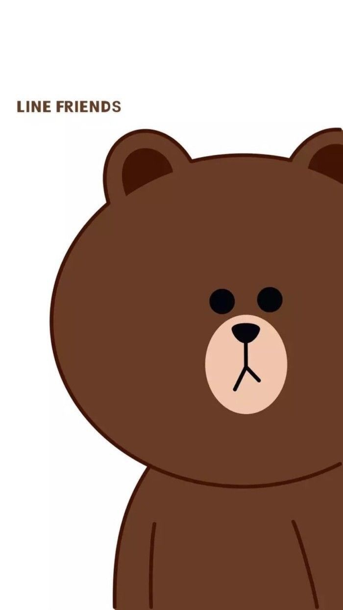 Pin Oleh Kelly Phang Di Brown Beruang Coklat Latar Belakang Animasi Wallpaper Lucu