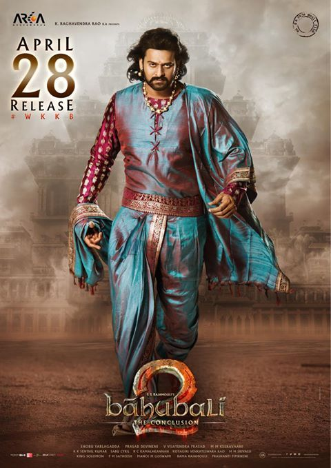 #2DaysToBaahubali2 Majestic posters of #Prabhas from #Baahubali2 , Are you excited??