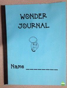 Wonder Journal - Wonderopolis no more bell work to grade or copy!