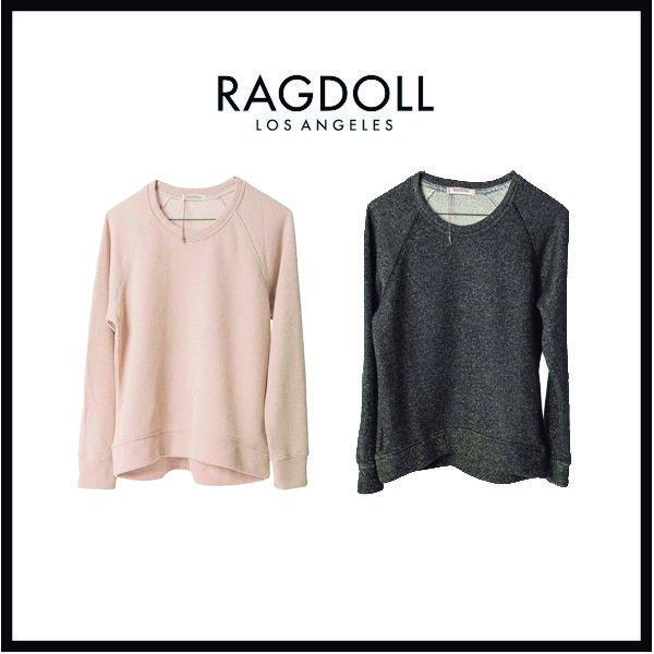 Sudaderas de efecto metálico Ragdoll.