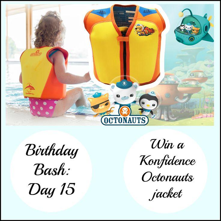 Birthday Bash: Day 15 - Win a Konfidence Octonauts jacket