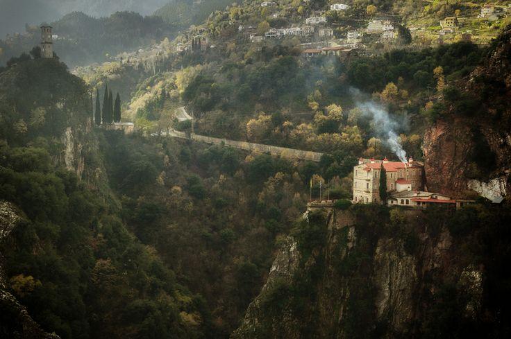 Μοναστήρι Προσσού, Ευρυτανία Proussos Monastery, Evritania, Greece