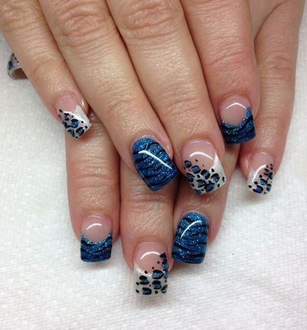 The 25 best cheetah nail designs ideas on pinterest coral nail 21 wild leopard print nail designs for 2016 prinsesfo Images