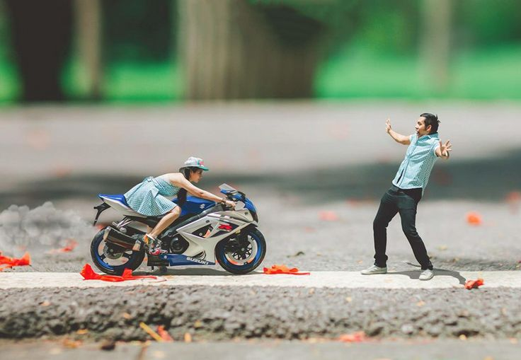 Wedding Photographer Turns Couples Into Miniature People