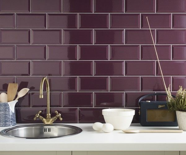 Kitchen Tiles From Tile Mountain: 1000+ Ideas About Plum Walls On Pinterest