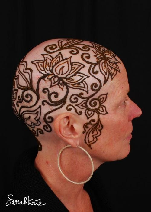 17 Best Images About Chemo Head Painting On Pinterest