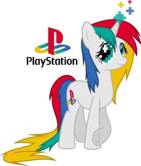 Playstation is a old fashioned pony who loves video games. She and her best friend, Xbox One, like to play video games together at least 7 times a week. ;)  PREFERENCES-a family with music, and time. *ADOPTED*