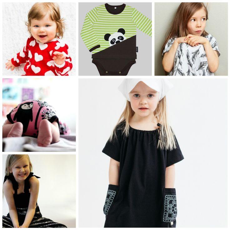 Lastenvaatekarnevaali goes Hippalot -tapahtuman myyjiä: KatiK design, RuttuTikki, Koti Mai Design (mm. Melli EcoDesign, PaaPii), Tuuni & Loru, Höö