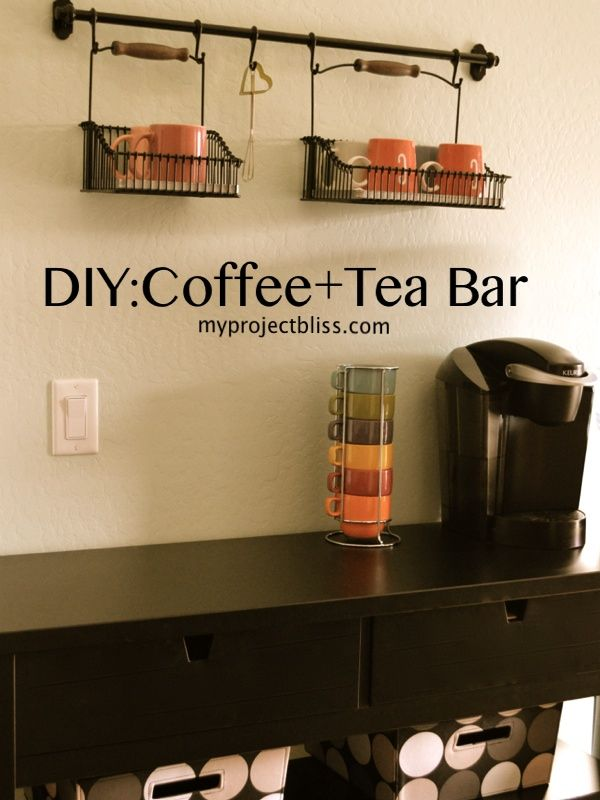 Diy Coffee Tea Bar For The Home Pinterest And Stations