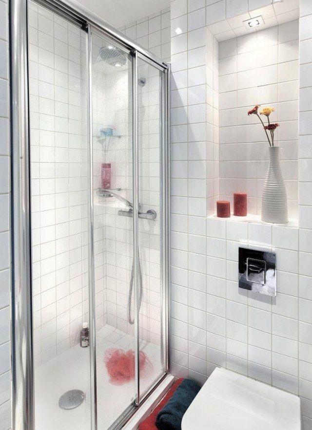 Die besten 25+ Glasfliese Dusche Ideen auf Pinterest U - kleines badezimmer mit dusche