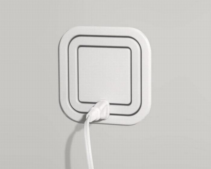 Amazing New Gadgets/ 360 Power Socket: This brilliant redesign of the conventional power socket lets you hook up several plugs into a single regular sized socket.