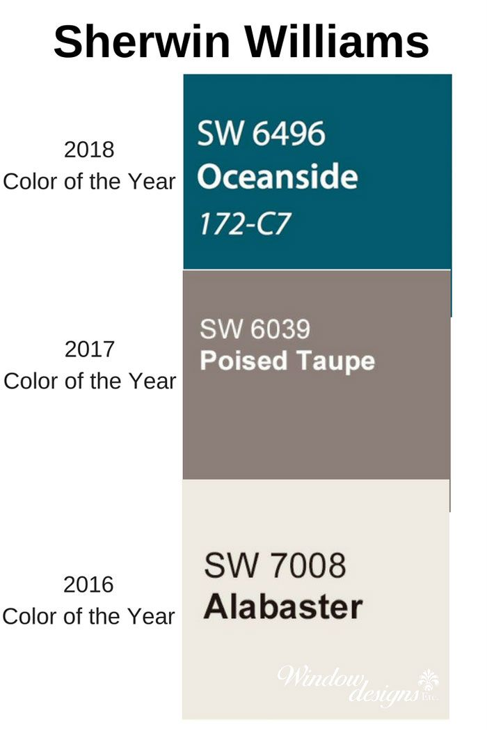Sherwin Williams Oceanside 2018 Color Of The Year Taupe Color