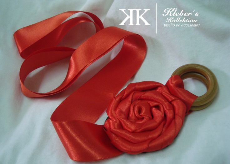 coral tone belt...#fashion