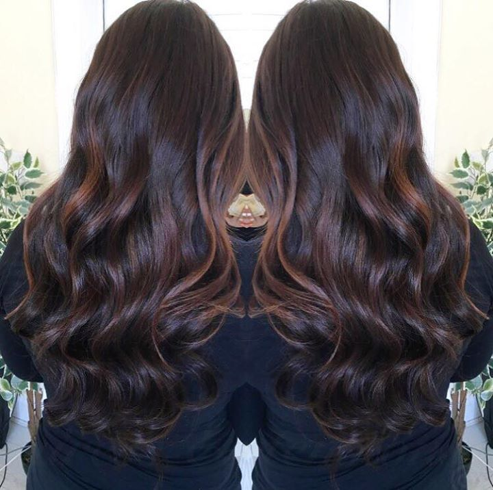 FUDGE BROWNIE   This was Kelly's first set of extensions with me . I loved all the different chocolate tones she had through her natural hair. I used 4 different brown tones and only 100 strands of the Hairspray Spanish range to create this look ❤️ #http://www.jennisonbeautysupply.com/  ,#hairinspo #longhair #hairextensions #clipinhairextensions #humanhair #hairideas #hairstyles #extensions #prettyhair  #clipinhairextensions #hairextensions #longhairgoals #hairextensionsspecialist…