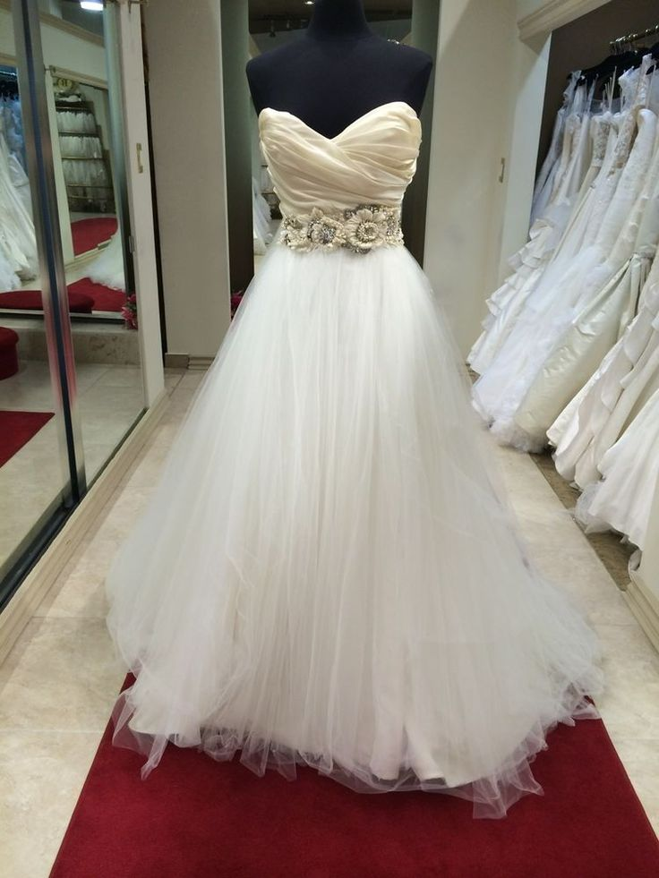 17 best Lazaro Tulle Ballgown images on Pinterest | Hochzeitskleider ...