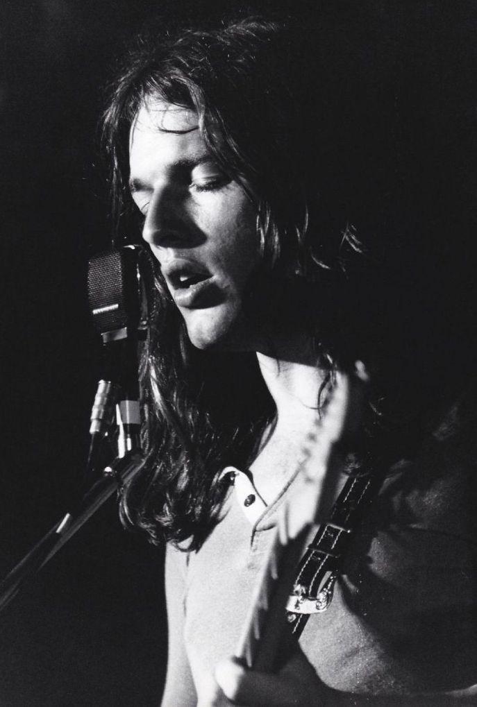 David Gilmour,  festival d'Antibes Juan-les-Pins, 26 june 1970. © Jean-Pierre Leloir