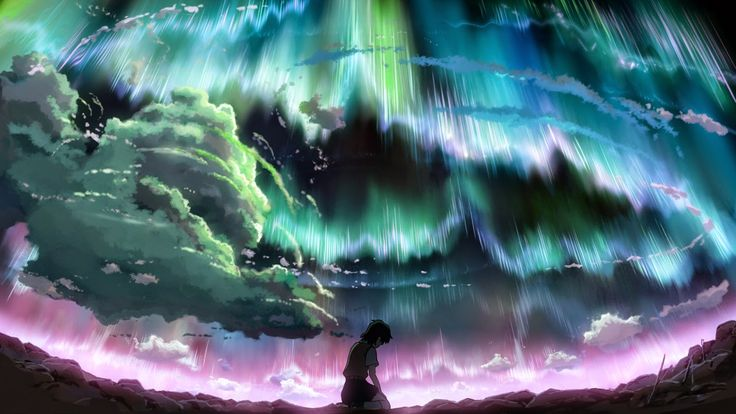 Hoshi wo Ou Kodomo/Children Who Chase Lost Voices/Journey to Agartha (2011). A film by Makoto Shinkai. Created by CoMix Wave Films.