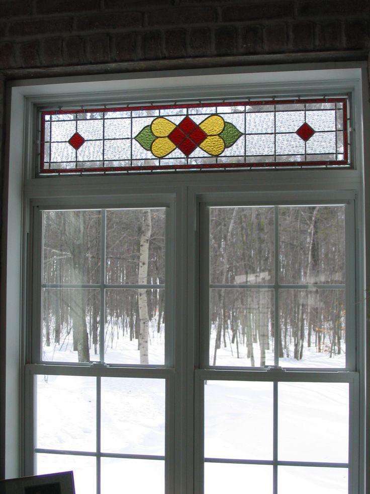 Vitraux pour imposte de fenêtre