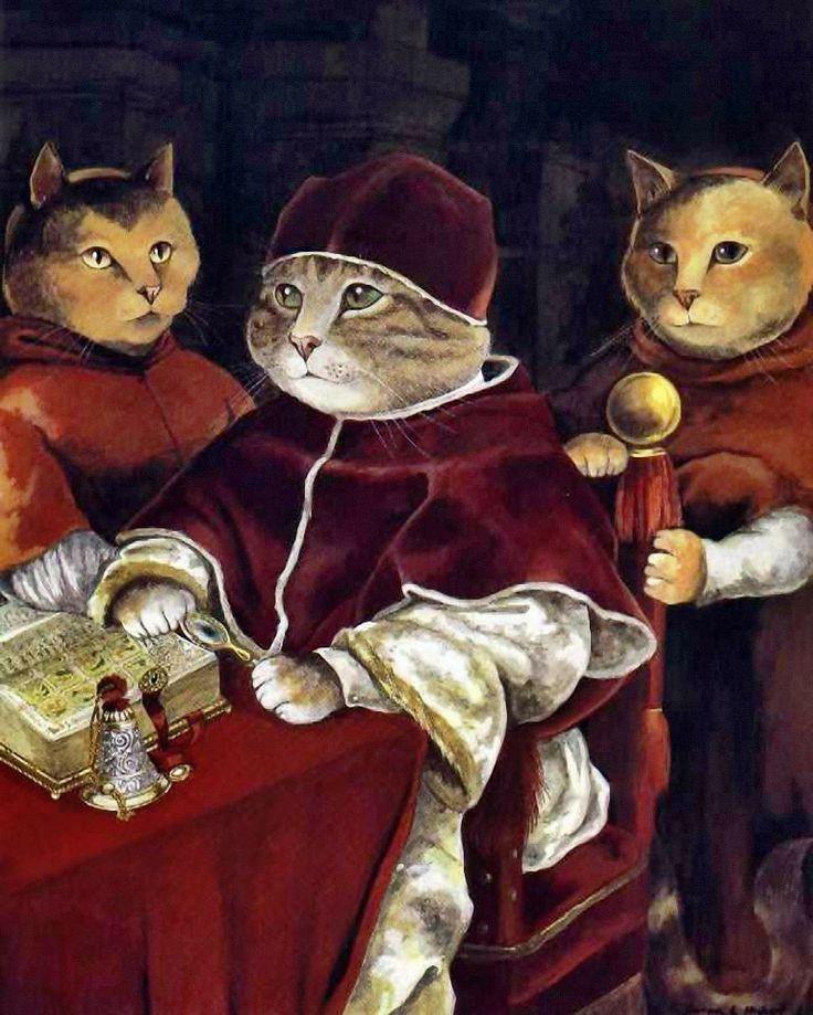 """Pope Leo X (Raphaël)"" par Susan Herbert"