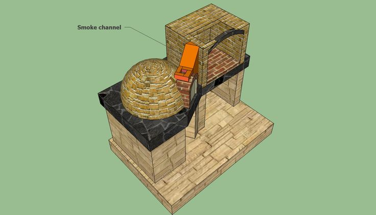 Brick oven plans | HowToSpecialist - How to Build, Step by Step DIY Plans