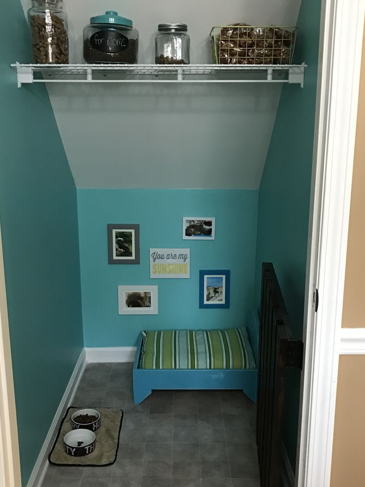 Dogs Have Their Own Room Under The Stairs