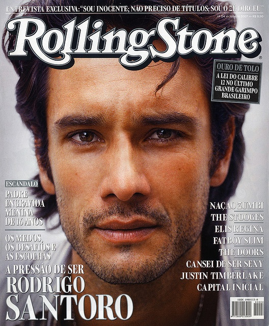 Rodrigo Santoro: I would like him to offer his hand in marriage to me with any of the rings on this board.