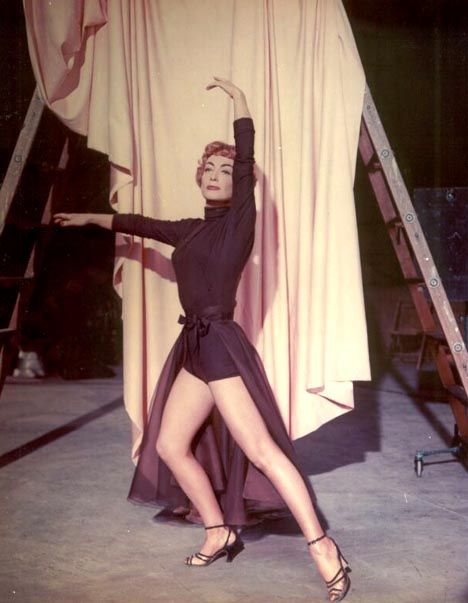 Joan Crawford in a publicity shot for Torch Song, 1953